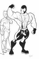 Bane Beefcake by BevisMusson