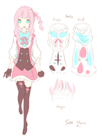 UTAU - SEO YURI - Reference Sheet by kimyurin-san