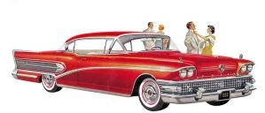 age of chrome and fins: Buick 8 by Peterhoff3