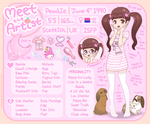 Meet the Artist - Peachie by Princess-Peachie