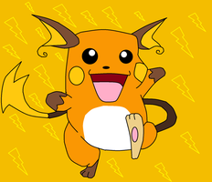 Raichu (Improved) by UmbreonDelilah
