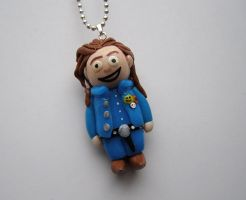 Randall Flagg- Stephen Kings Stand Custom Necklace by RavenMedia