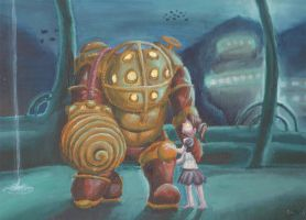 Bioshock - Daddy's Here by The-Legendaerie-LT
