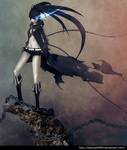 BLACK ROCK SHOOTER by tetsuok9999