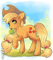 Applejack by Co0kie-Cat