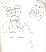 Harry Draco Babies by OukaWolf46