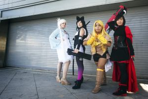 RWBY// The New Team by SuperKaiCosplay