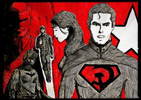 Superman Red Son by Bonehand8
