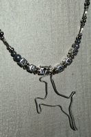 ALWAYS Silver Doe Necklace by medievalfaery