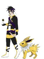 James and Jolteon by Yori-Rinzo-Shimize