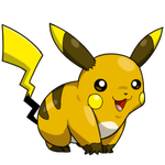 Raichu Coloured Pikachu by Sklavenbrause