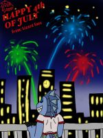 Happy 4th of JULY from Lizard Face by MagicArt1
