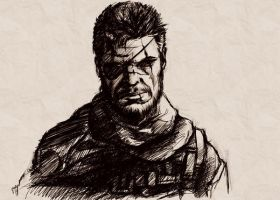 Metal Gear Art Studio - Big Boss 2 by SolidAlexei