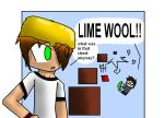 LIME WOOL!! by echoblaze123