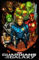 Guardians of the Galaxy by wilson-go