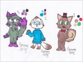 Cheap Adoptables~ (1/3 Open) by HarmonyParty