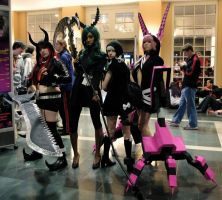 Black Rock Shooter Group - Anime Boston by thelittlestprince