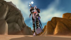 Warcraft Giantess - Crushed underfoot. by Shrinkspell