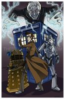 Doctor Who by DIN0LICH