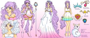 Sailor Moon OC Ref Sheet: Kiku/Nova by Sailor-Serenity