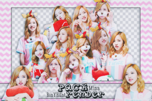 [PACK RENDER #51] 18 PNGS MINA - TWICE by RinYHEnt