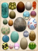 Pokemon Eggs Study No. 1