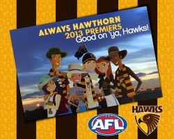 To the 2013 AFL Premiership Champions! by daanton