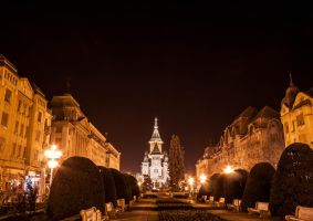 Timisoara Night by AnastasiiaS