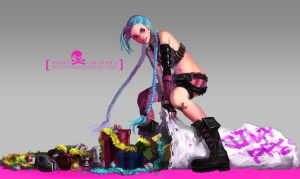 JINX-MERRY CHRISTMAS! by LengYou