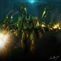 68. Hero - Angry Marines by Tiwyll