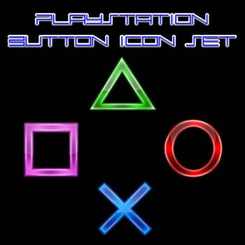 Playstation Controller Icons by Vietcong67