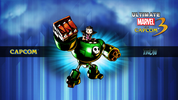 Ultimate MvC3 Tron Bonne by CrossDominatriX5