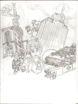 Ghostbusters Dr. Rhodes 3 by GBAxel