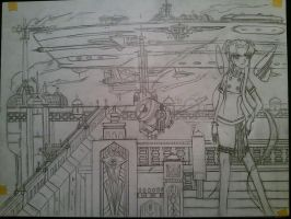 Avalon air harbor semifinal  sketch by Lantice