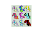 MLP Adoptables #1 by Doctor-Maty