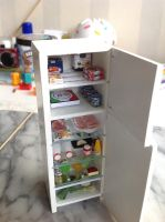 1:12 scale Fridge makeover by Almadejonge