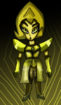 Chibi Yellow Diamond by Pokechan13