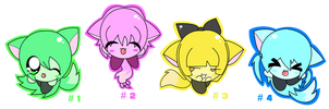 Kirby Adoptables 1 by BunnysAdopts