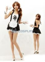 Black-and-white-ds-cosplay-maid-dress by Mcosplay