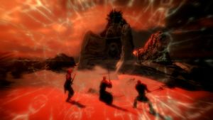 First Fight against Alduin 1 by Marina17