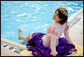Rapunzel Cosplay: She Dreams of Swimming by Mink-the-Satyr