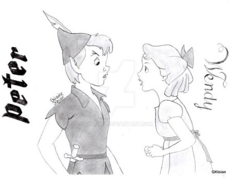 Peter and Wendy by GKleian