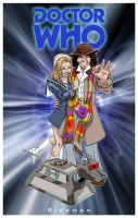 Doctor Who: The 4th Doctor by RickmanArt