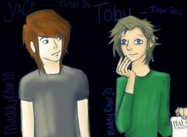 Jace and Toby (Tutor This) by CatchingFear