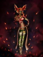 Scarlet - Guild Wars 2 by xX-Lone-Wolf-Xx