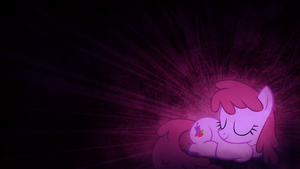 Berry Punch Decides to Sleep on Your Wallpaper by SandwichDelta