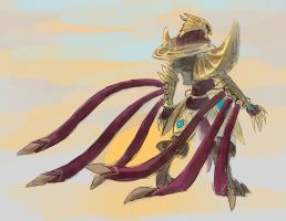 Azir Sketch by kyogre635