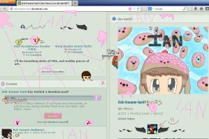 ((Ian took over my screen.)) by Ask-Insane-IanH