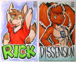 MFF Badge Previews by RickGriffin