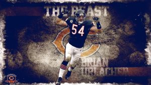 The Beast Brian Urlacher by Photopops